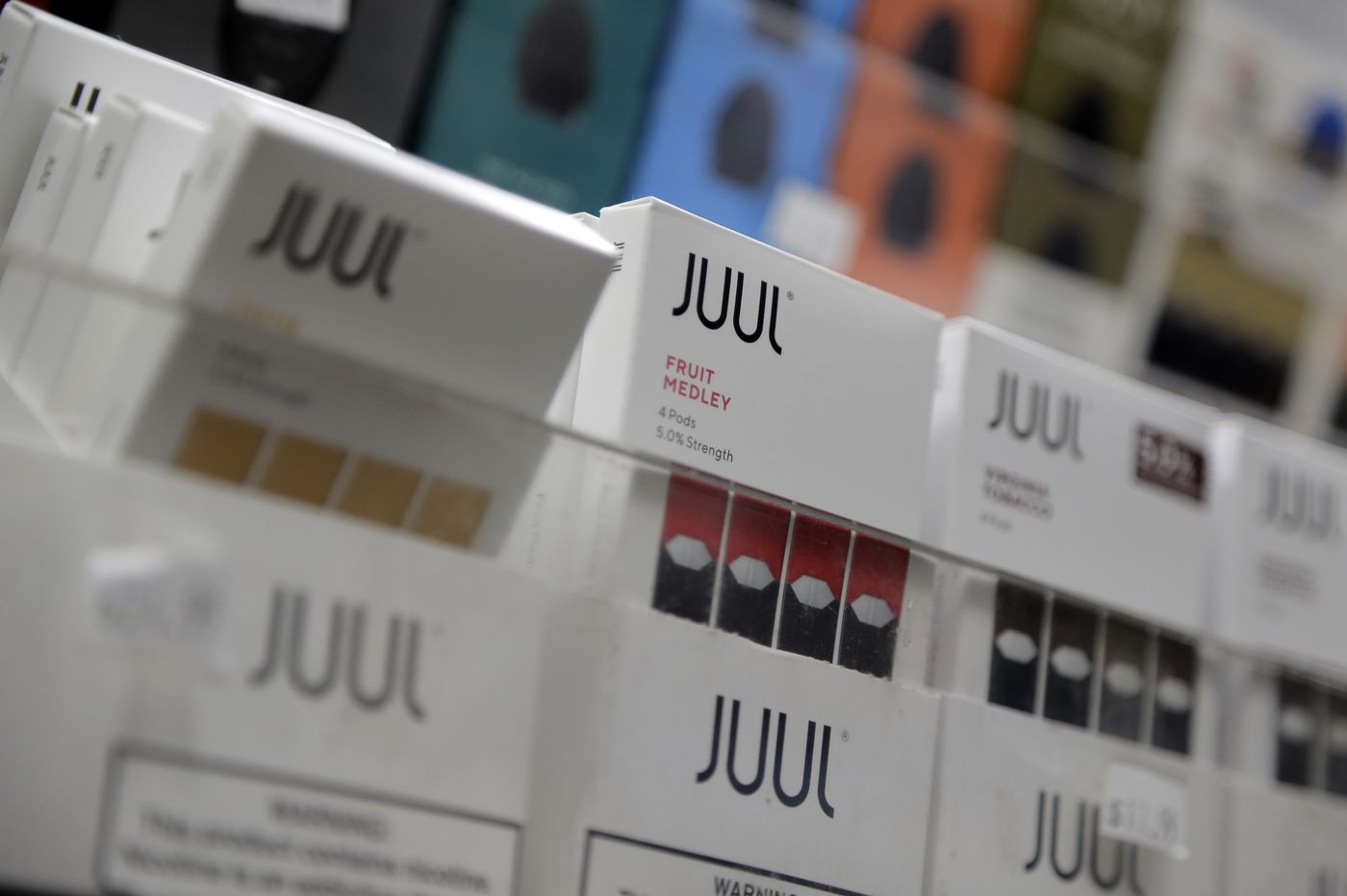 Pennsylvania sues Juul, demands ban on maker's vaping products