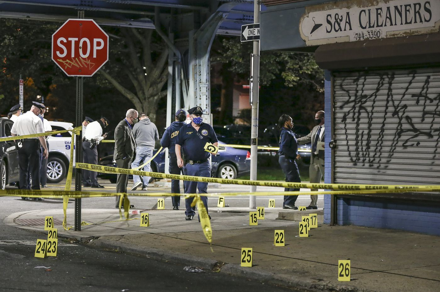 One dead, six injured in mass shooting on Frankford Ave.