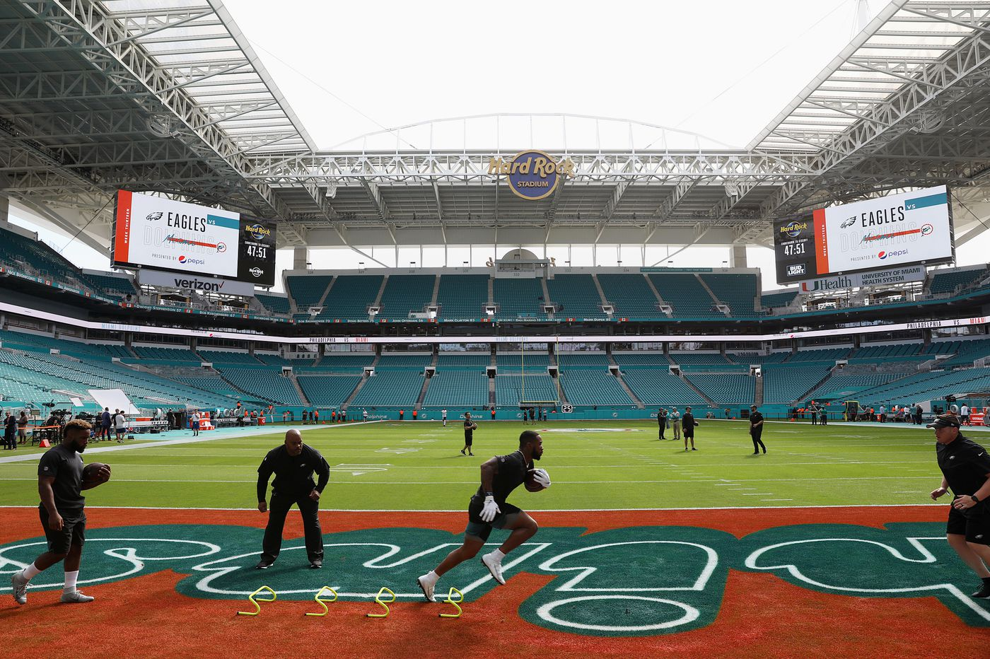 Eagles-Dolphins: Start time, how to watch and stream