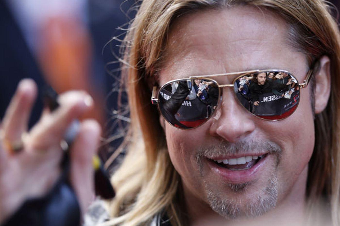'Z' viewers' surprise guest: Brad Pitt