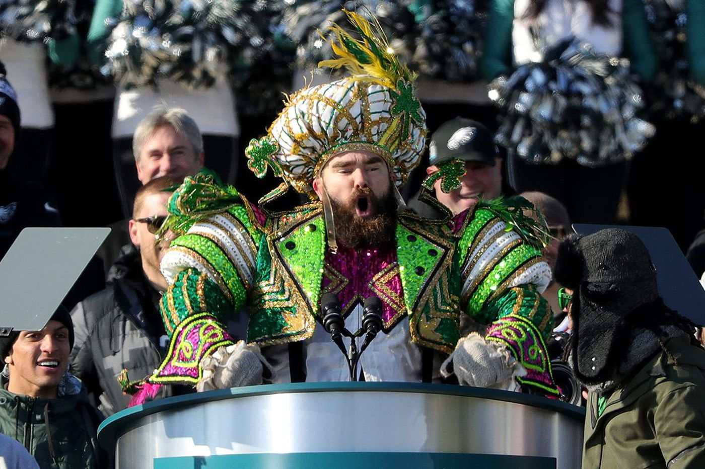 b13d6920b1b Jason Kelce on Eagles parade speech  I was worried about the swearing