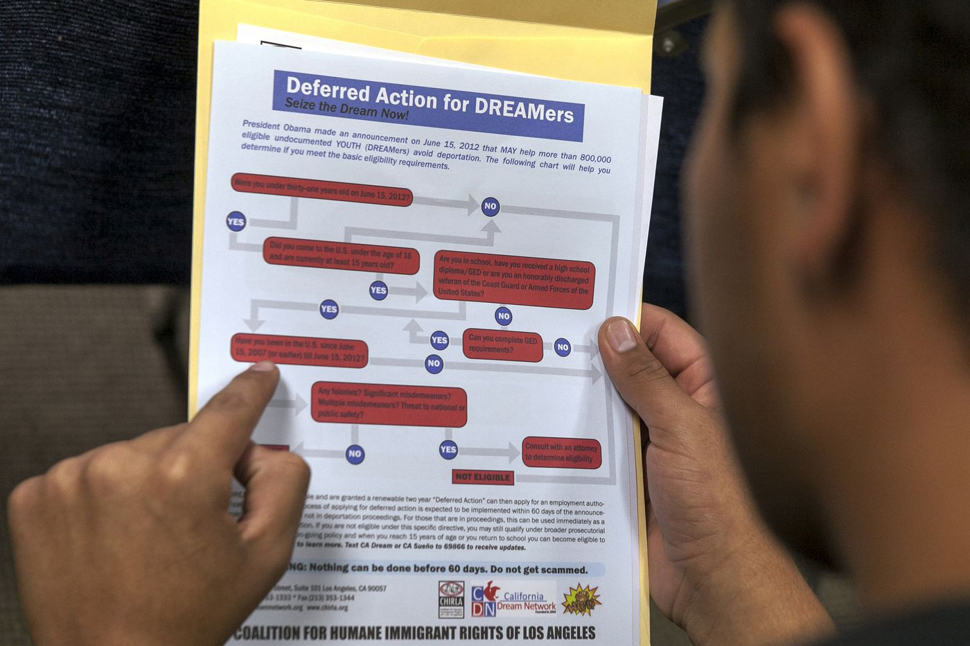 Appeals court rules against Trump on DACA immigrant policy