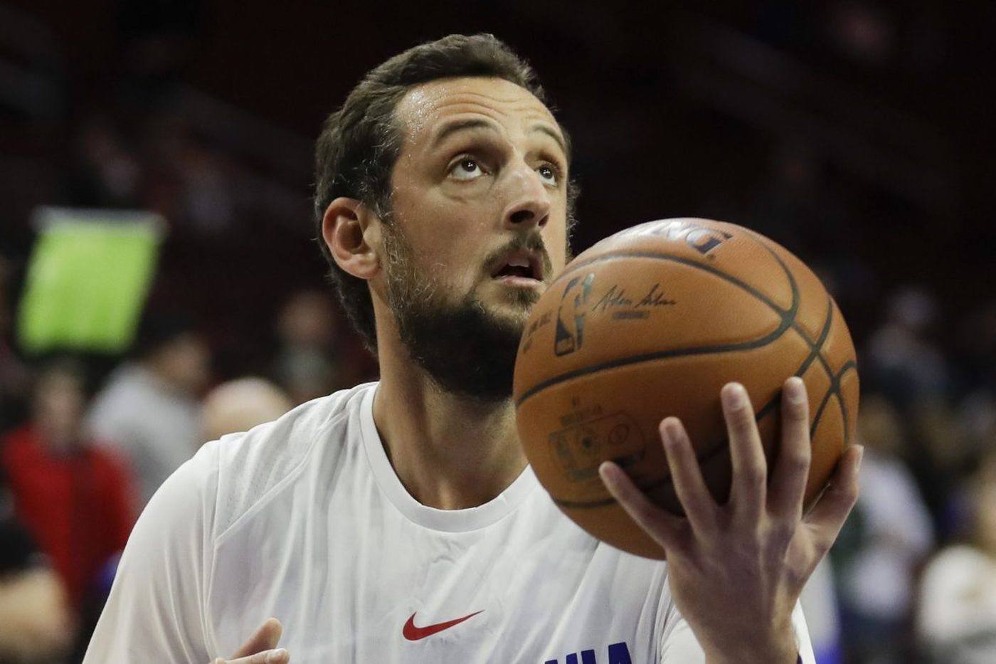 Marco Belinelli wants Sixers to set the tone early in Game 2