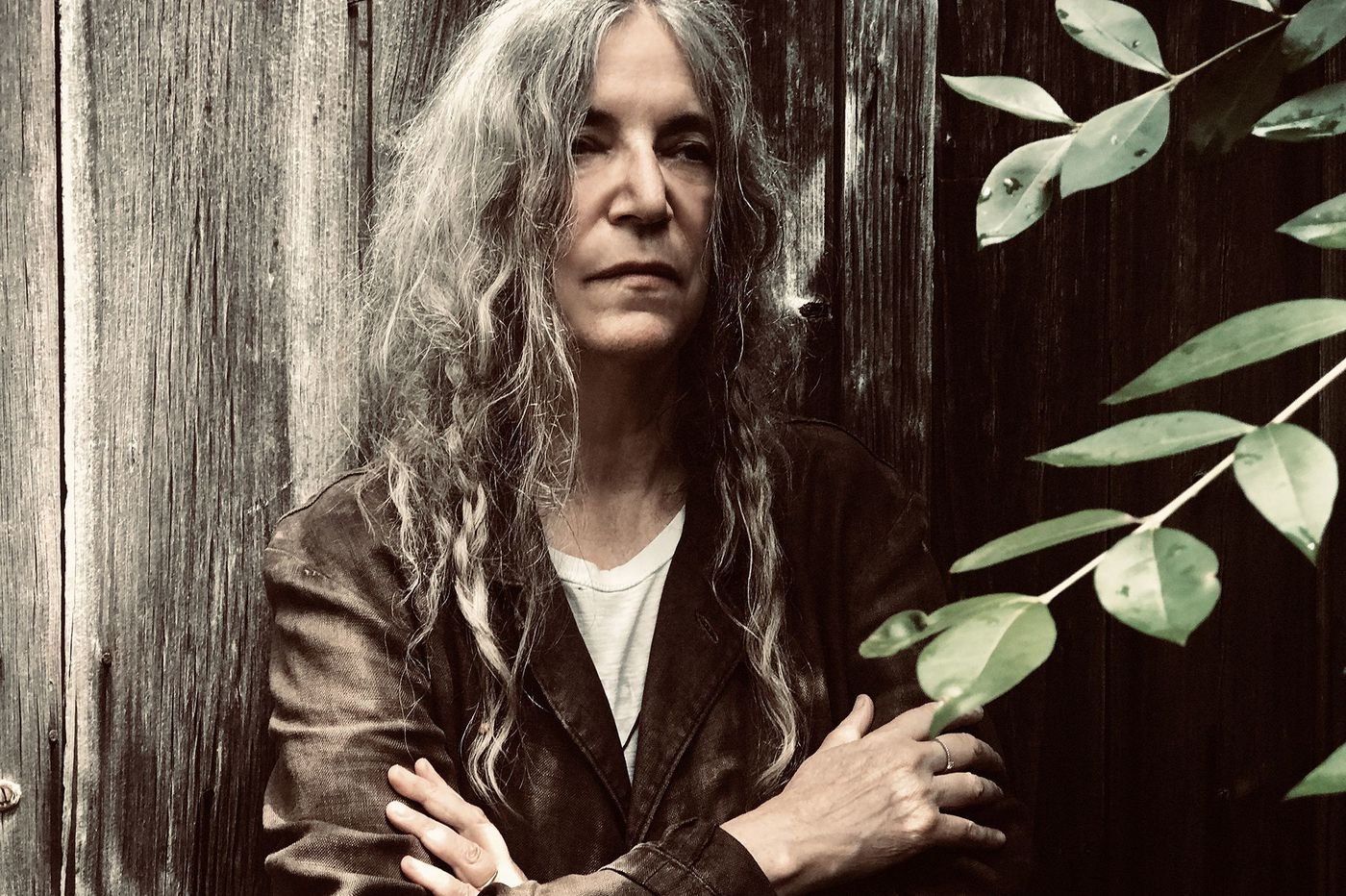 Punk icon Patti Smith surprised a Haddonfield bookshop after she saw her memoir in the window