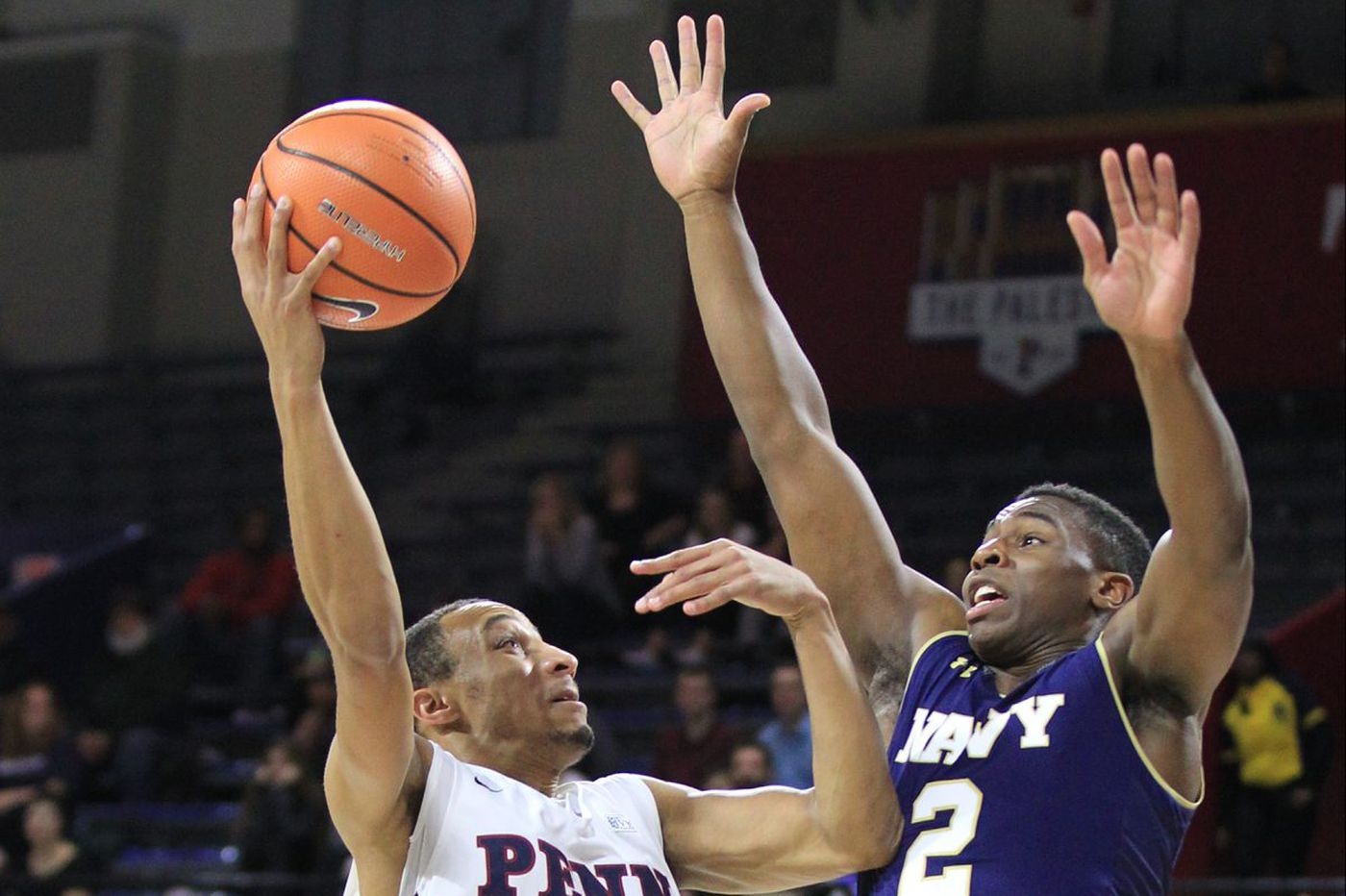 Penn basketball convincingly defeats Navy for first win