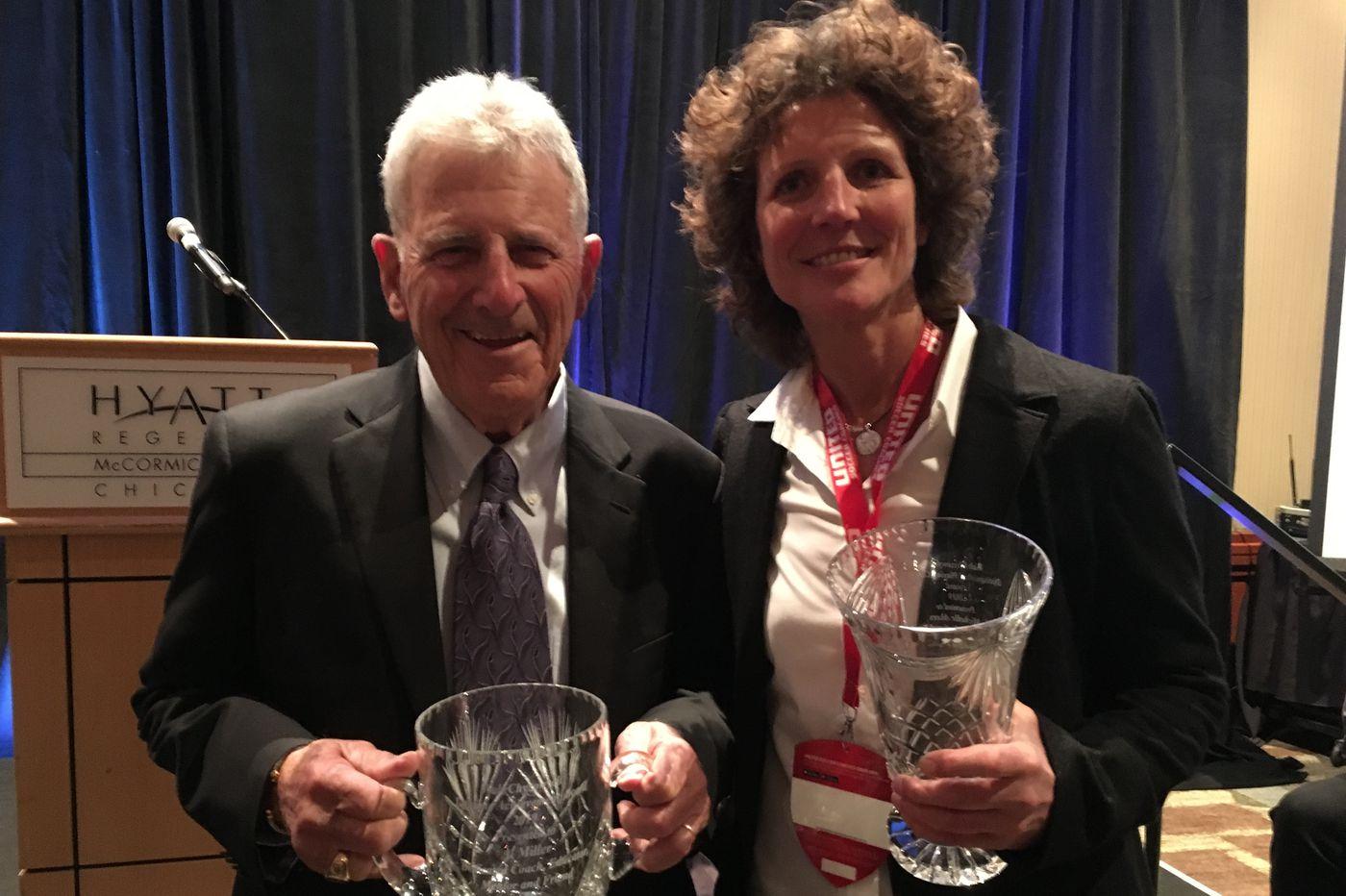 Al Miller, coach of 1973 Philadelphia Atoms team that won city's last major pro soccer title, gets lifetime achievement award