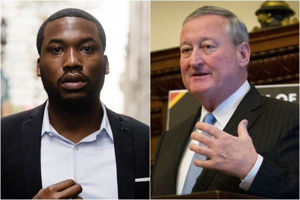 Mayor Kenney visits Meek Mill in prison