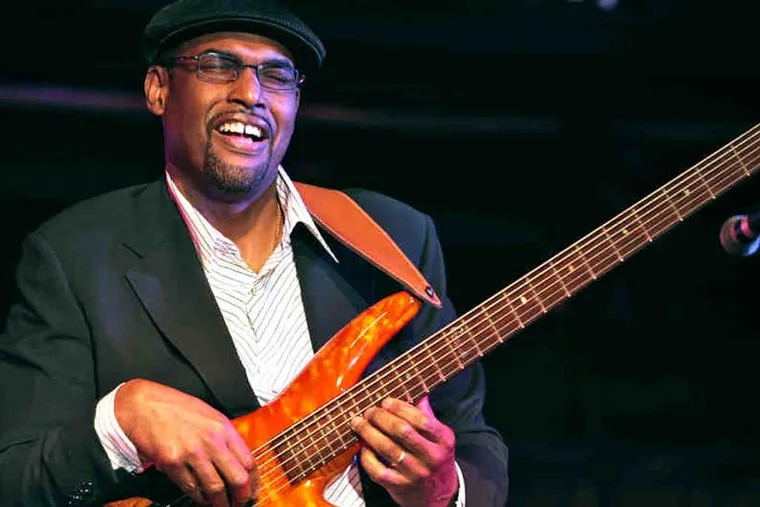 Bassist Gerald Veasley is cofounder of the Bass BootCamp, which came to Crowne Plaza Philadelphia on March 13-15, 2015. ( Photo by R. Andrew Lepley )