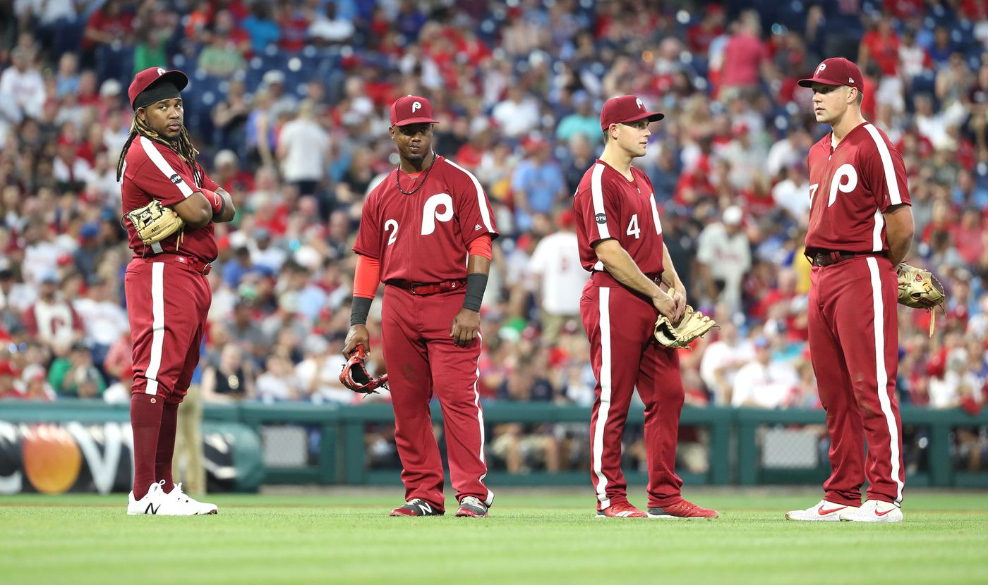 san francisco 70a07 03cbf Phillies fall to Braves for embarrassing, ugly loss in ...