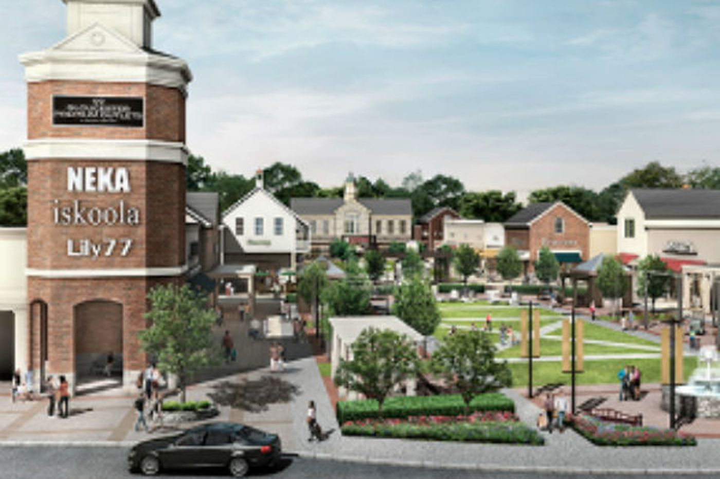 Gloucester Premium Outlets opens today