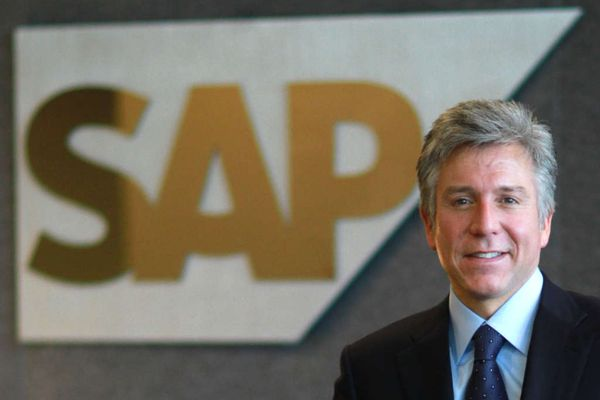SAP shares jump as it promises to stop acquisitions and cut costs.