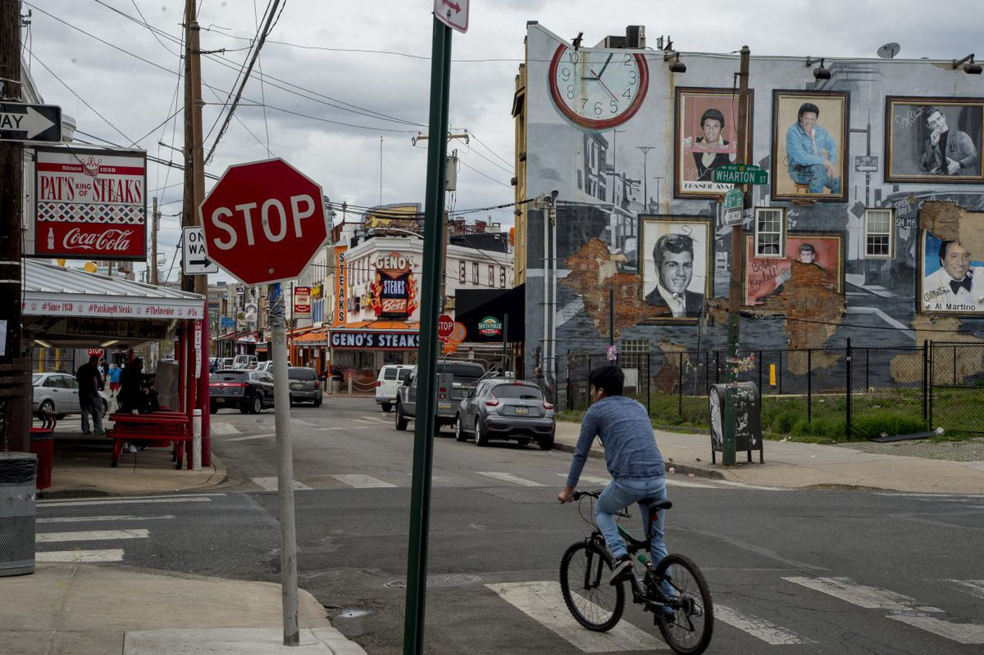 Across from Philadelphia's cheesesteak mecca, a South Philly neighborhood fights over its future