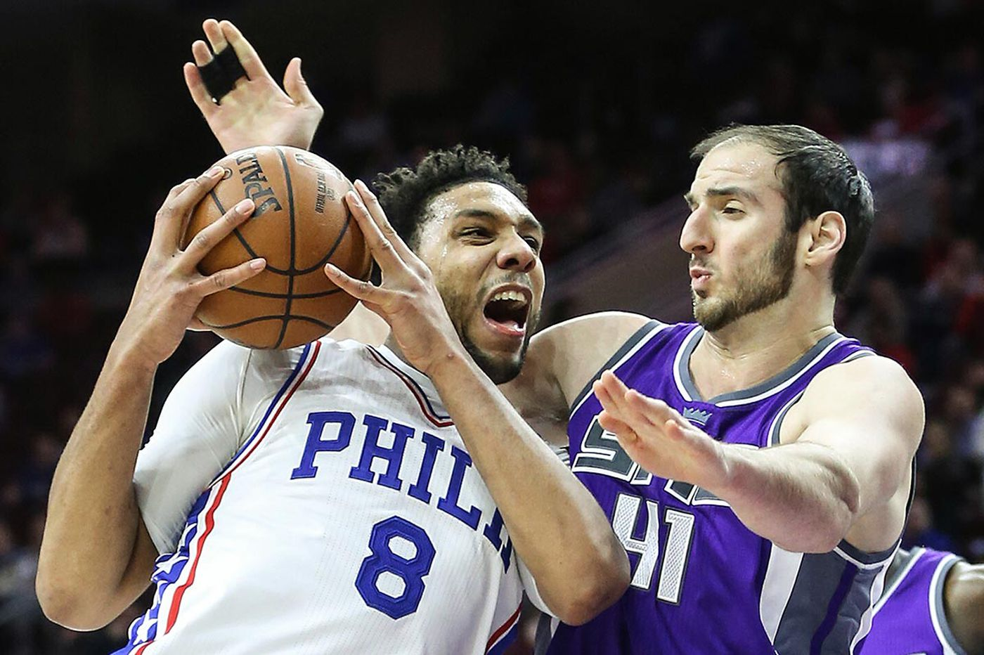 Even without Embiid, Sixers overcome Kings