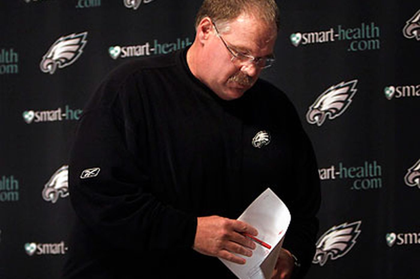 Eagles Notes: 'Being successful takes time,' Reid says of young Eagles team