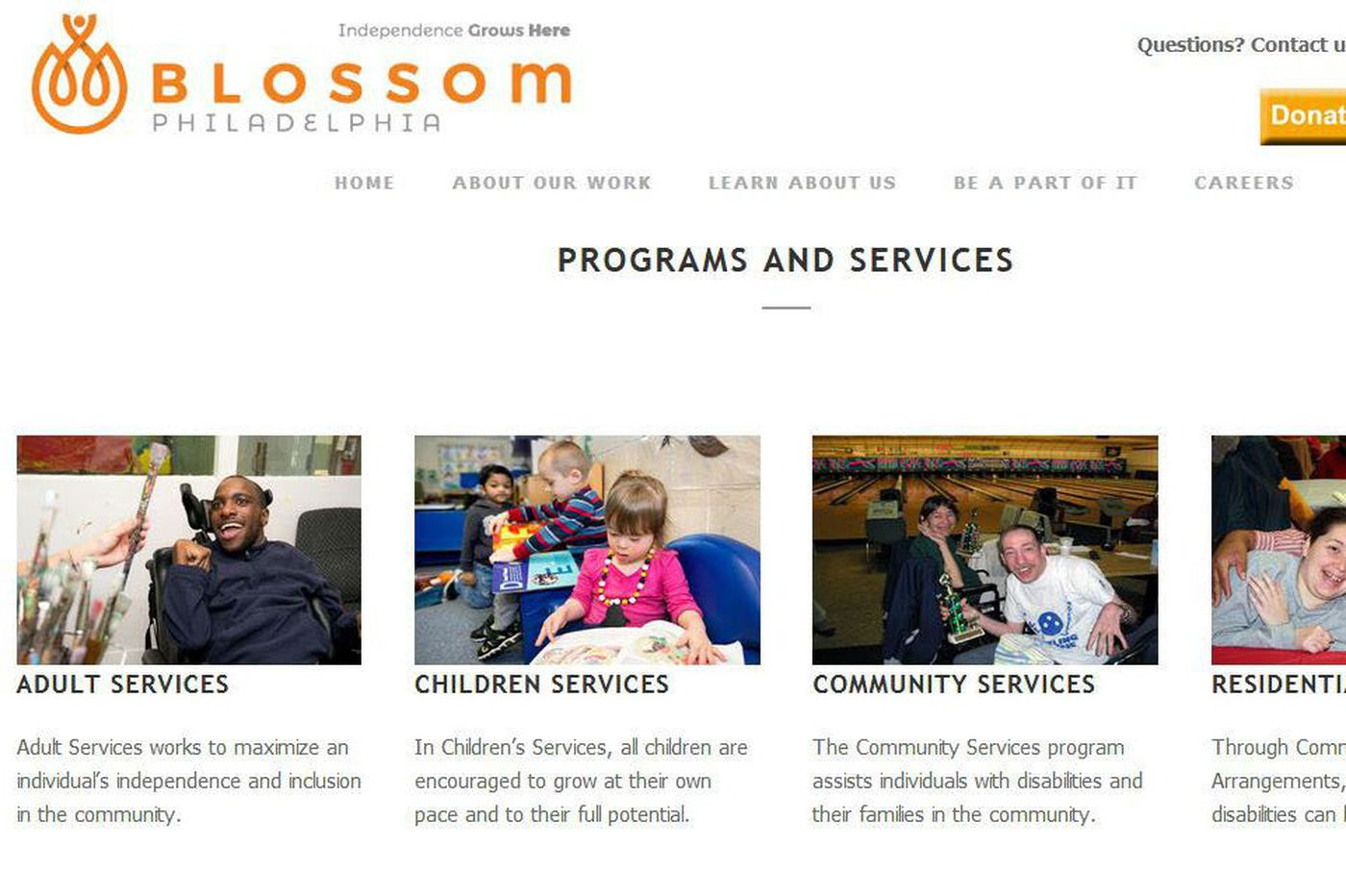 Blossom Philadelphia's deficient care for the disabled continues