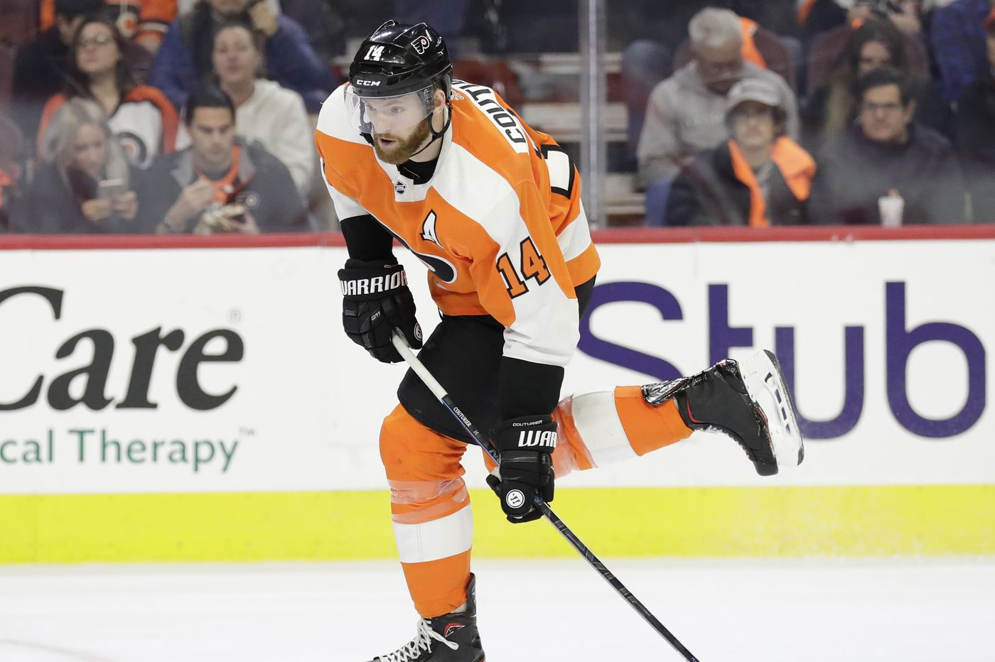 Sean Couturier on slumping Flyers: 'We have to start showing more will'
