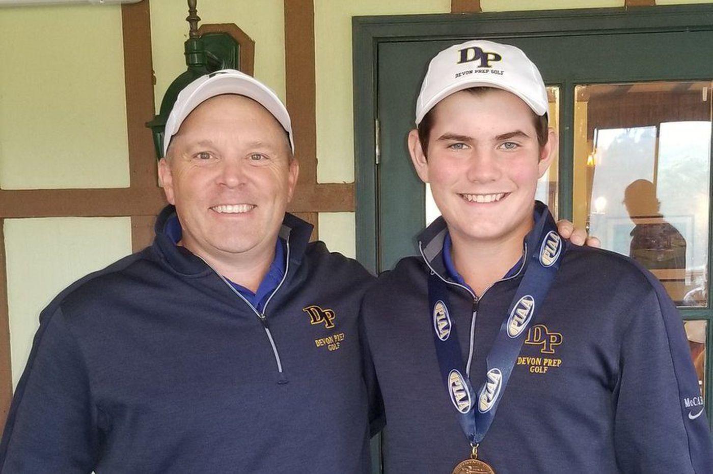 Monday's Southeastern Pa. roundup: Devon Prep golfer Ryan McCabe qualifies for PIAA championships