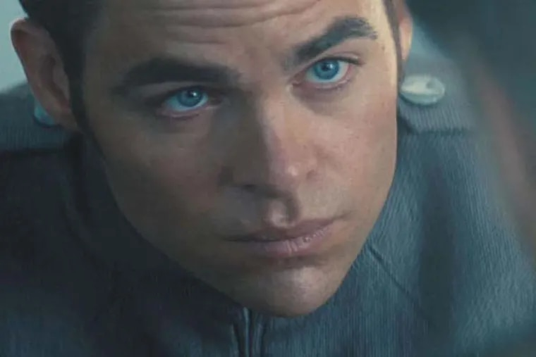 "Chris Pine, from ""Star Trek Into Darkness,"""