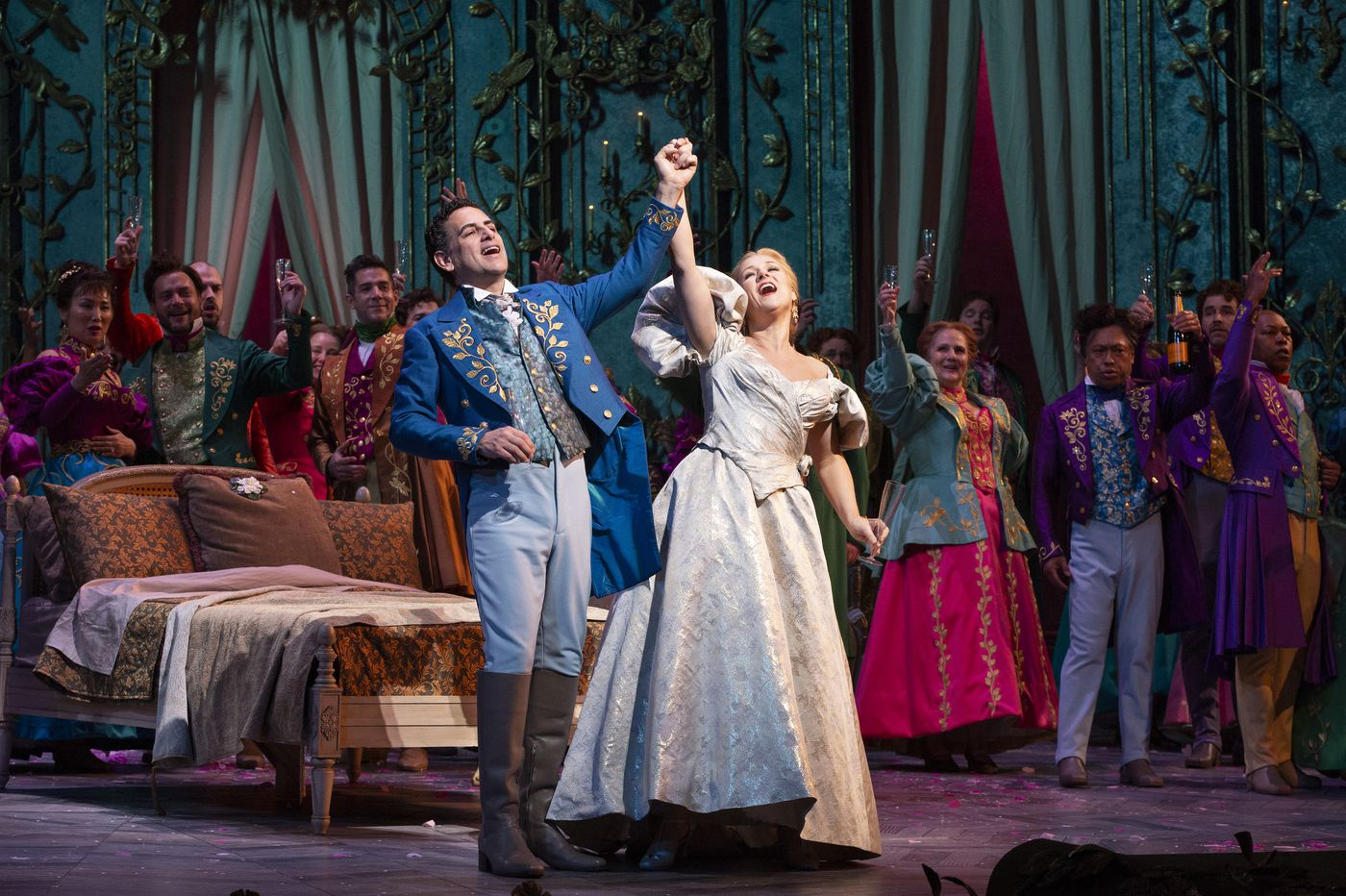 Yannick Nezet-Seguin's 'La Traviata' at the Met brings down the house