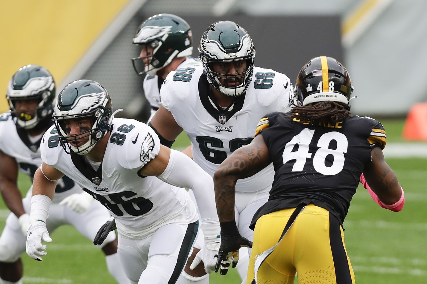 Jordan Mailata and the Eagles' young O-line may have bright future | Film analysis