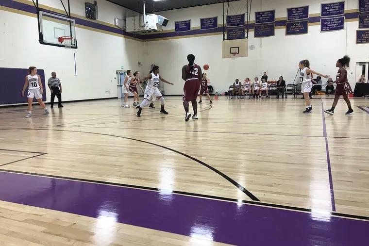 The Perkiomen School girls' basketball team rolled past Academy of New Church, 47-10, on Thursday.