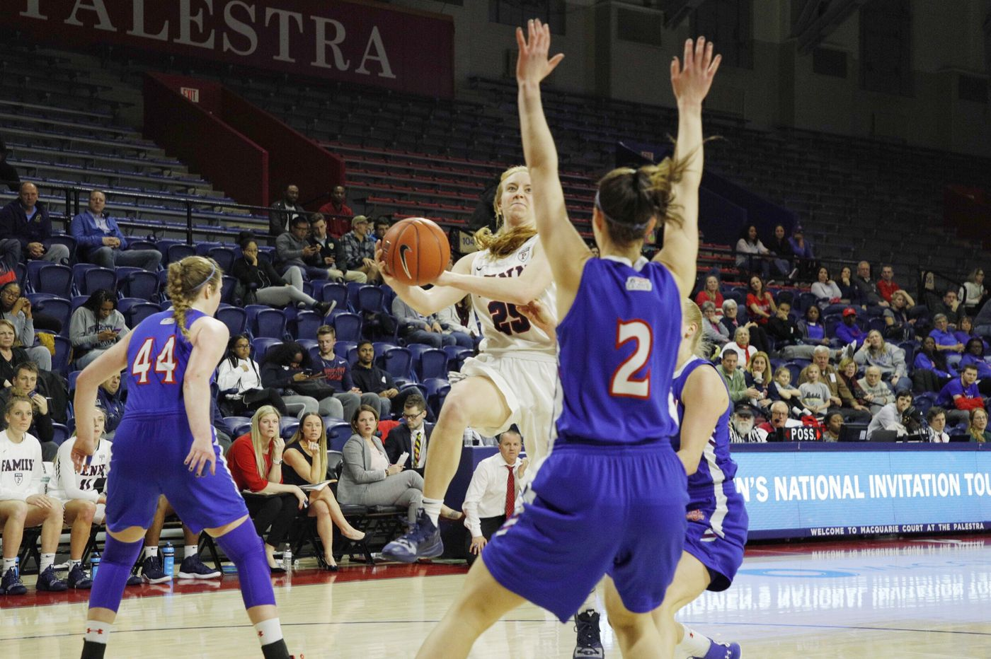 In women's NIT second round, Penn faces road trip to Providence on short notice