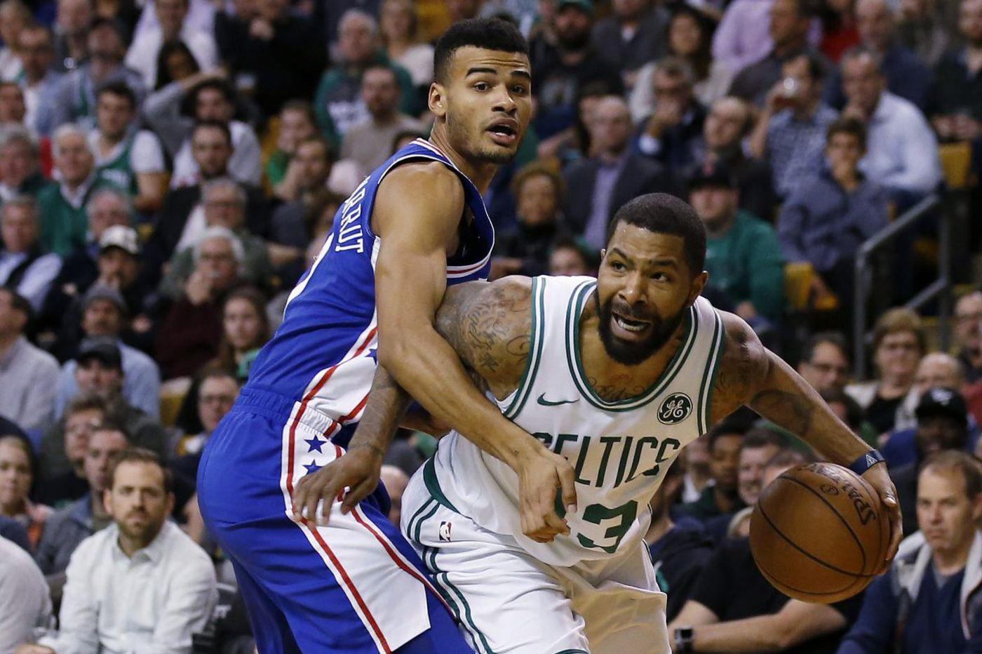 Celtics' Marcus Morris excited about facing his hometown team