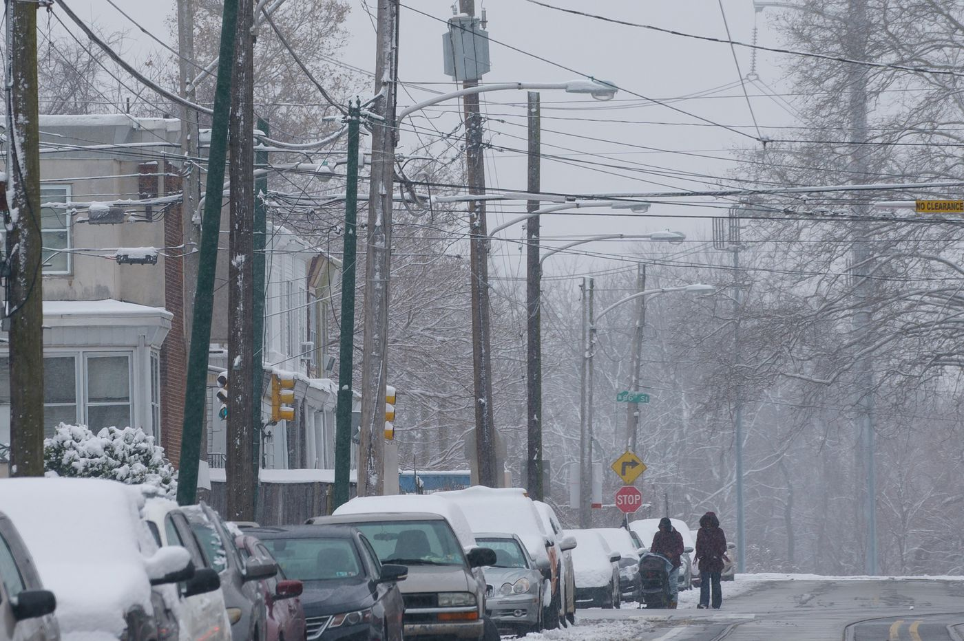 A foot of snow possible in the Philly region; the city hasn't had even an inch since March 2019