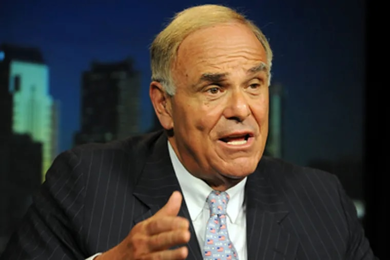 Gov. Rendell vetoed three bills on Saturday, including an expansion of the so-called castle doctrine. (File Photo / Staff)