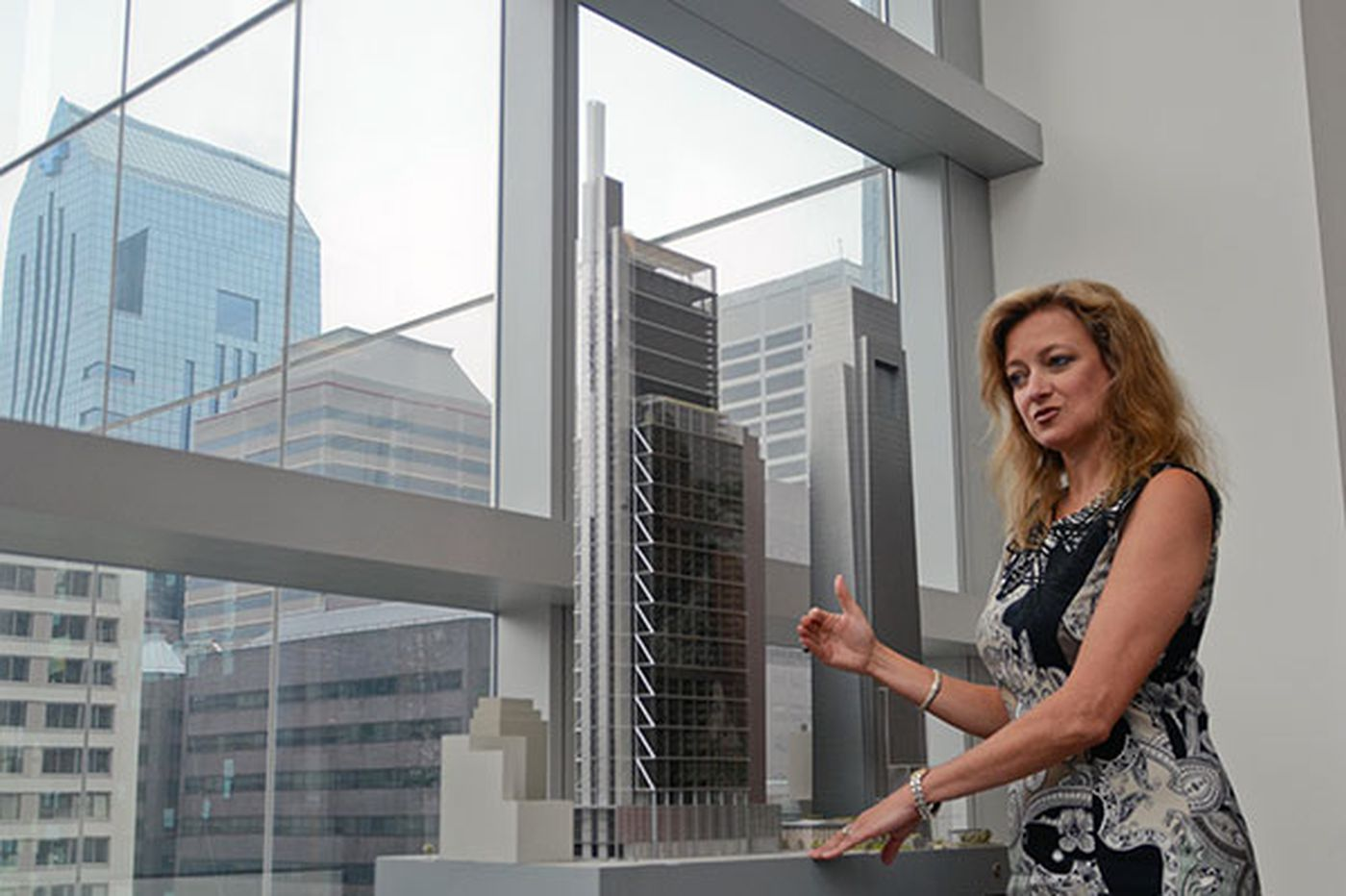 Planning the new Comcast tower, from large to small
