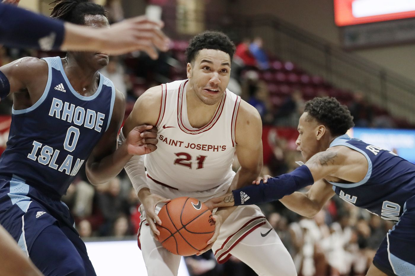 Rhode Island 71, Saint Joseph's 61: Stats, highlights, and reaction from the Hawks