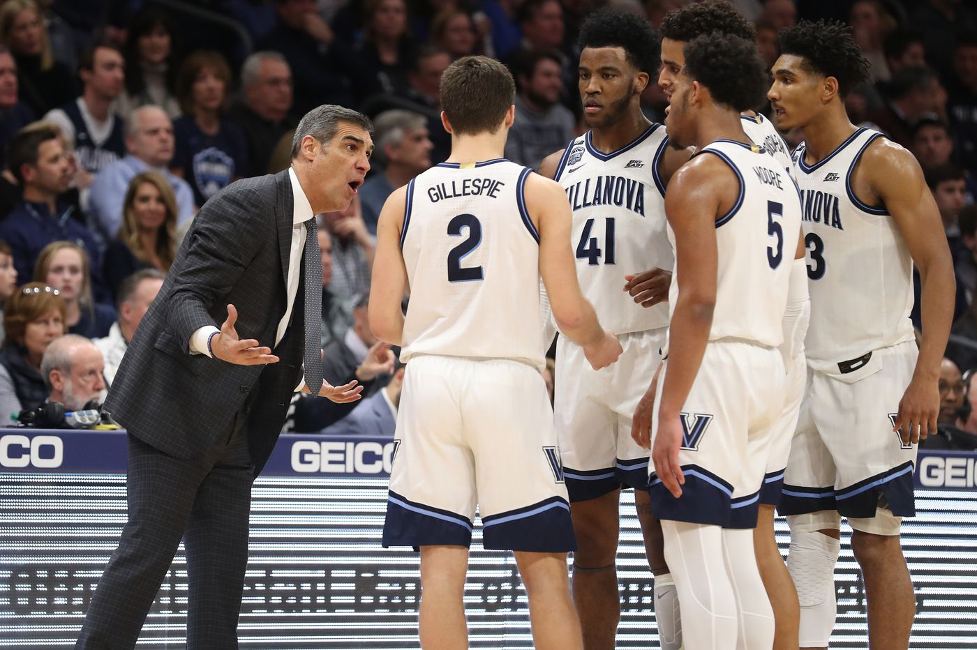 Villanova coach Jay Wright and his players educate themselves on voting in the wake of racial injustice