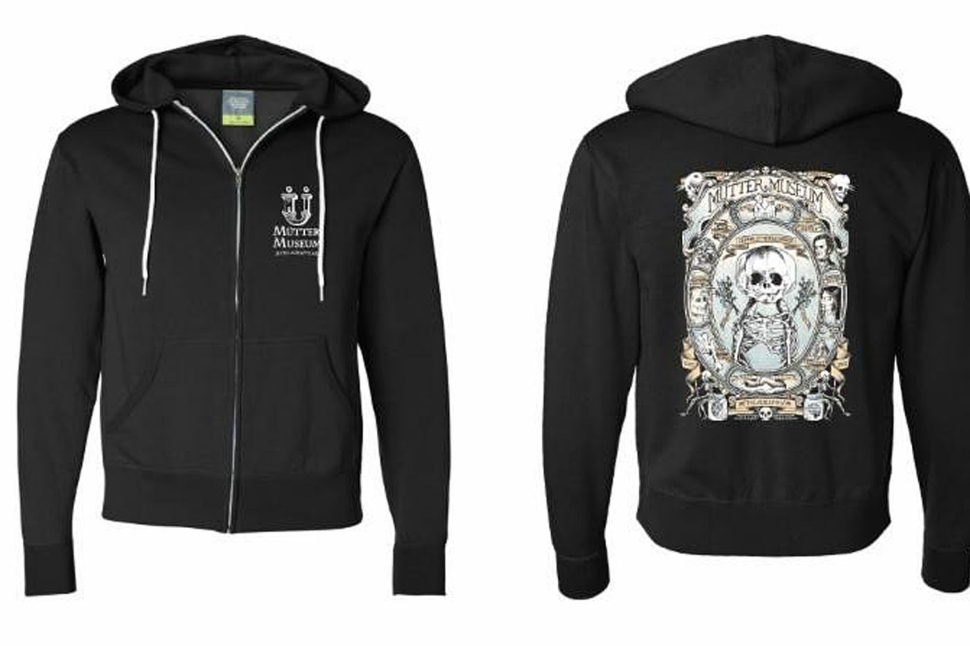 We're obsessed with this Mutter Museum hoodie