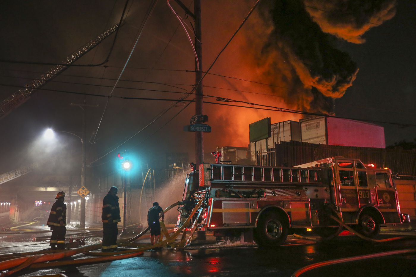 Kensington junkyard, site of spectacular fire, code violations, must stay closed, judge rules