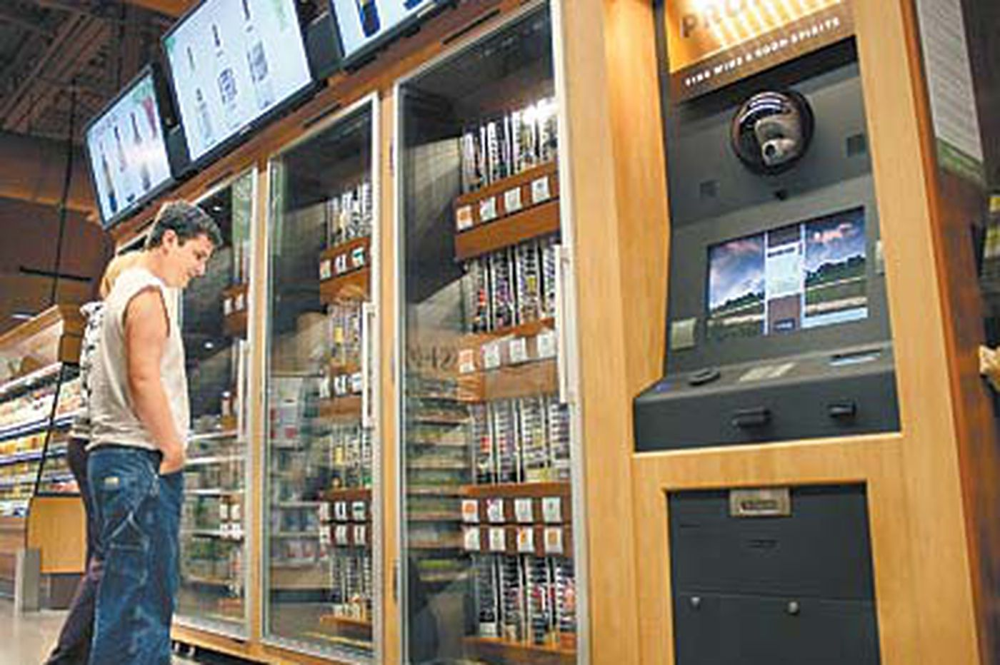 Audit: Wine kiosks cost taxpayers $1 million