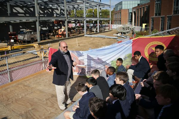 At this Main Line private school, campus construction becomes a lab to teach students