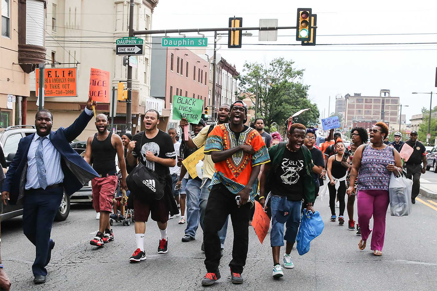 Philly black protest voices: 'Shutting things down today'
