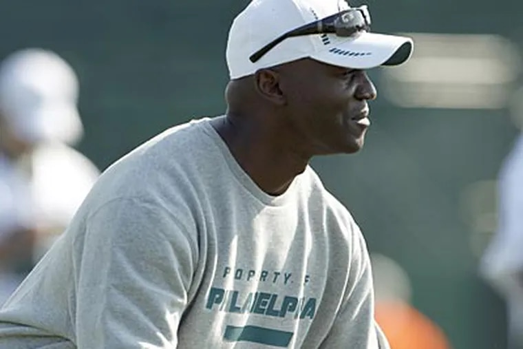 Last week, new defensive coordinator Todd Bowles said that he would not make any momentous changes. (Yong Kim/Staff Photographer)
