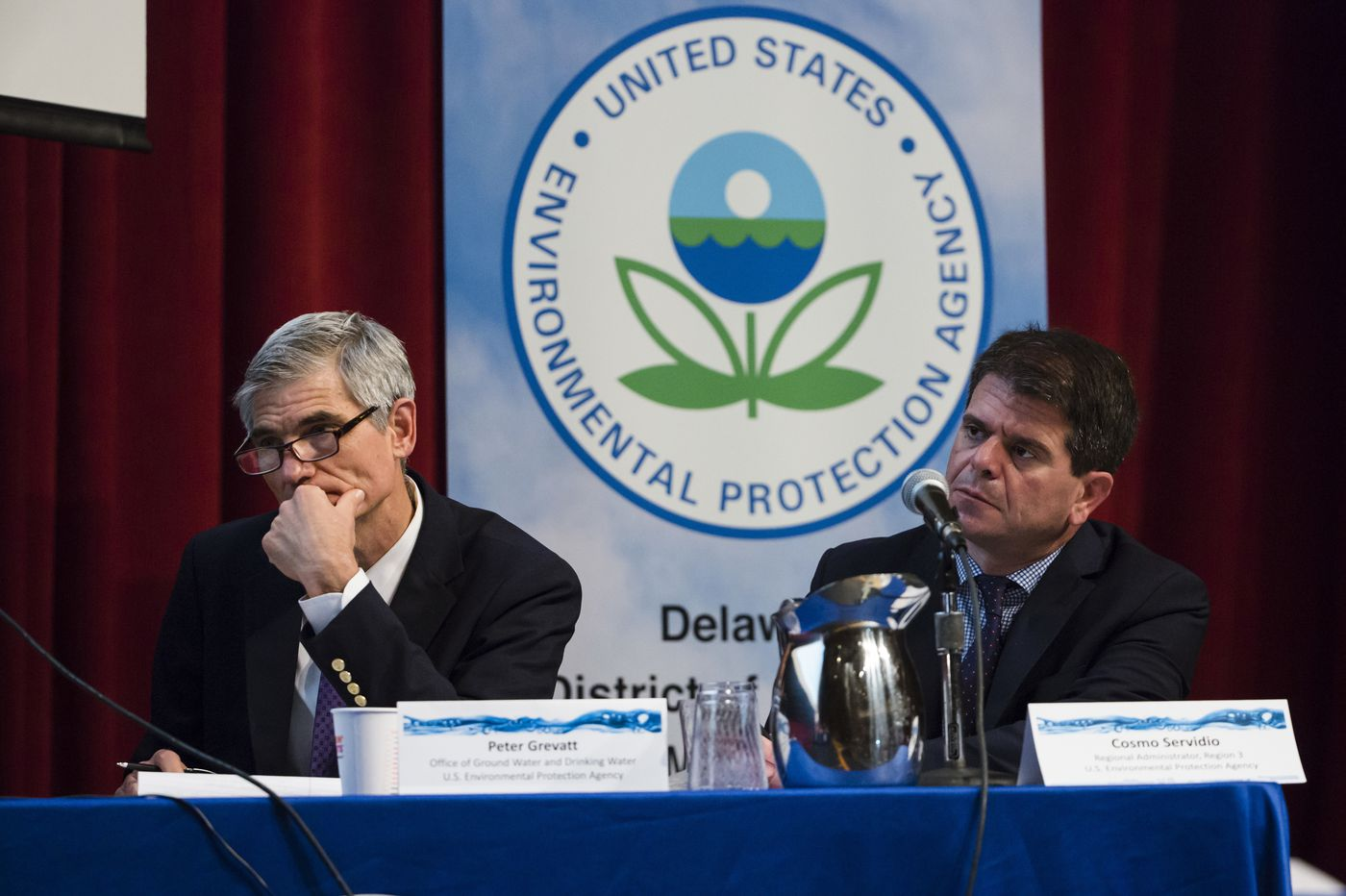 EPA outlines plan for dealing with toxic chemicals in water