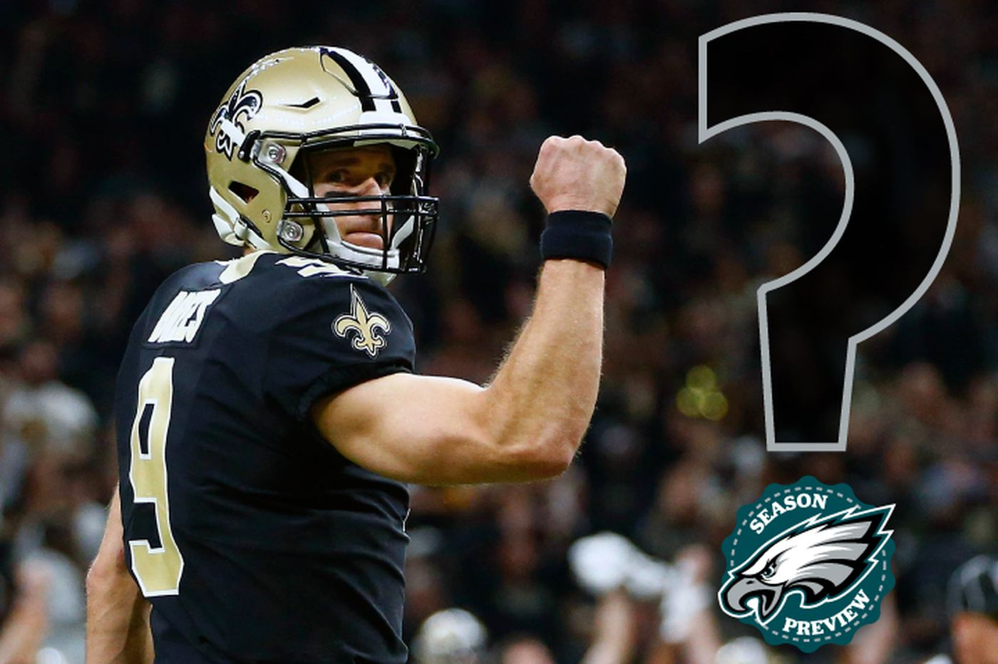 How do the Eagles stack up against the other expected NFC powers — the Cowboys, Saints, Rams, and Bears?