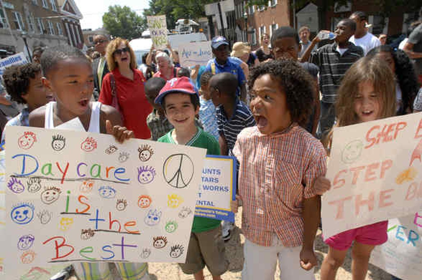 Protesters decry possible Pa. budget cuts