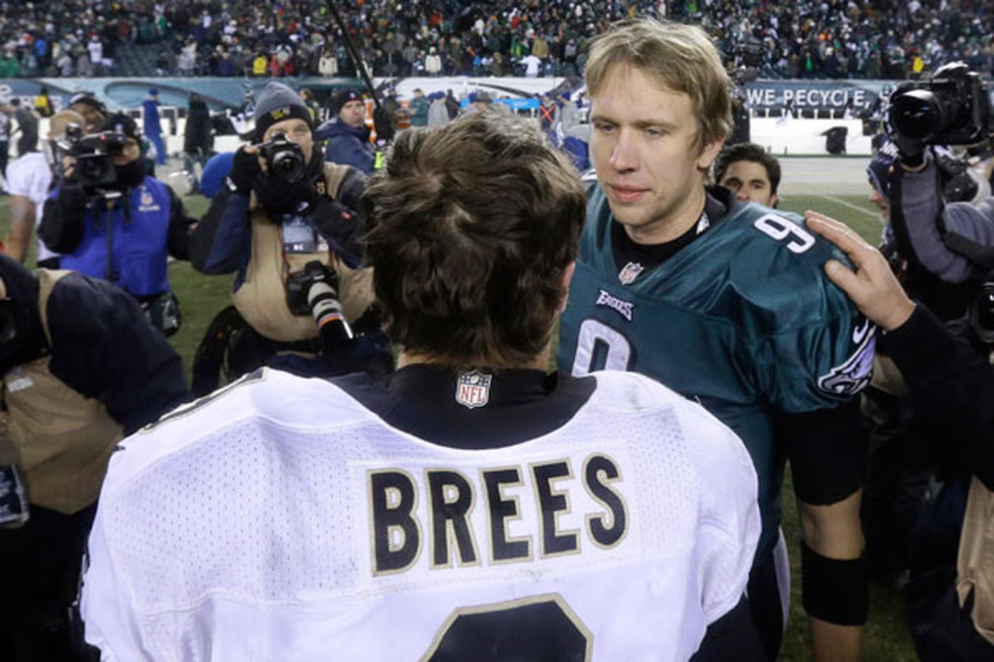 Nick Foles and Drew Brees 10d876310