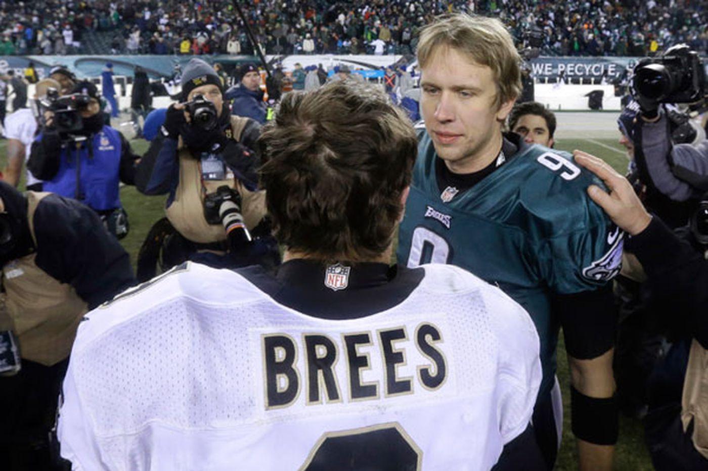 Nick Foles and Drew Brees, both Westlake High grads, enter Eagles-Saints matchup as fellow Super Bowl MVPs