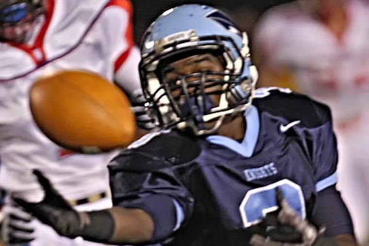 North Penn's Brandon Mercer and the rest of the Knights will play La Salle Saturday for a trip to the state title game. (David M Warren / Staff Photographer)