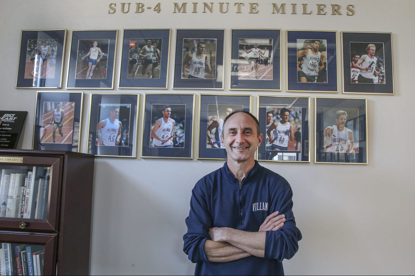 Marcus O'Sullivan has seen it all at the Penn Relays, but pressure on Villanova doesn't change