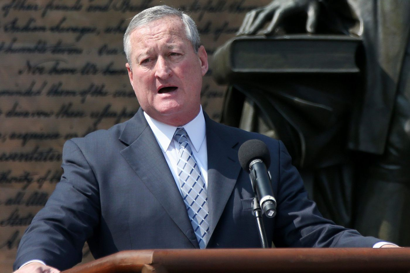 Why Glaxo isn't meeting with Mayor Kenney while he's in London