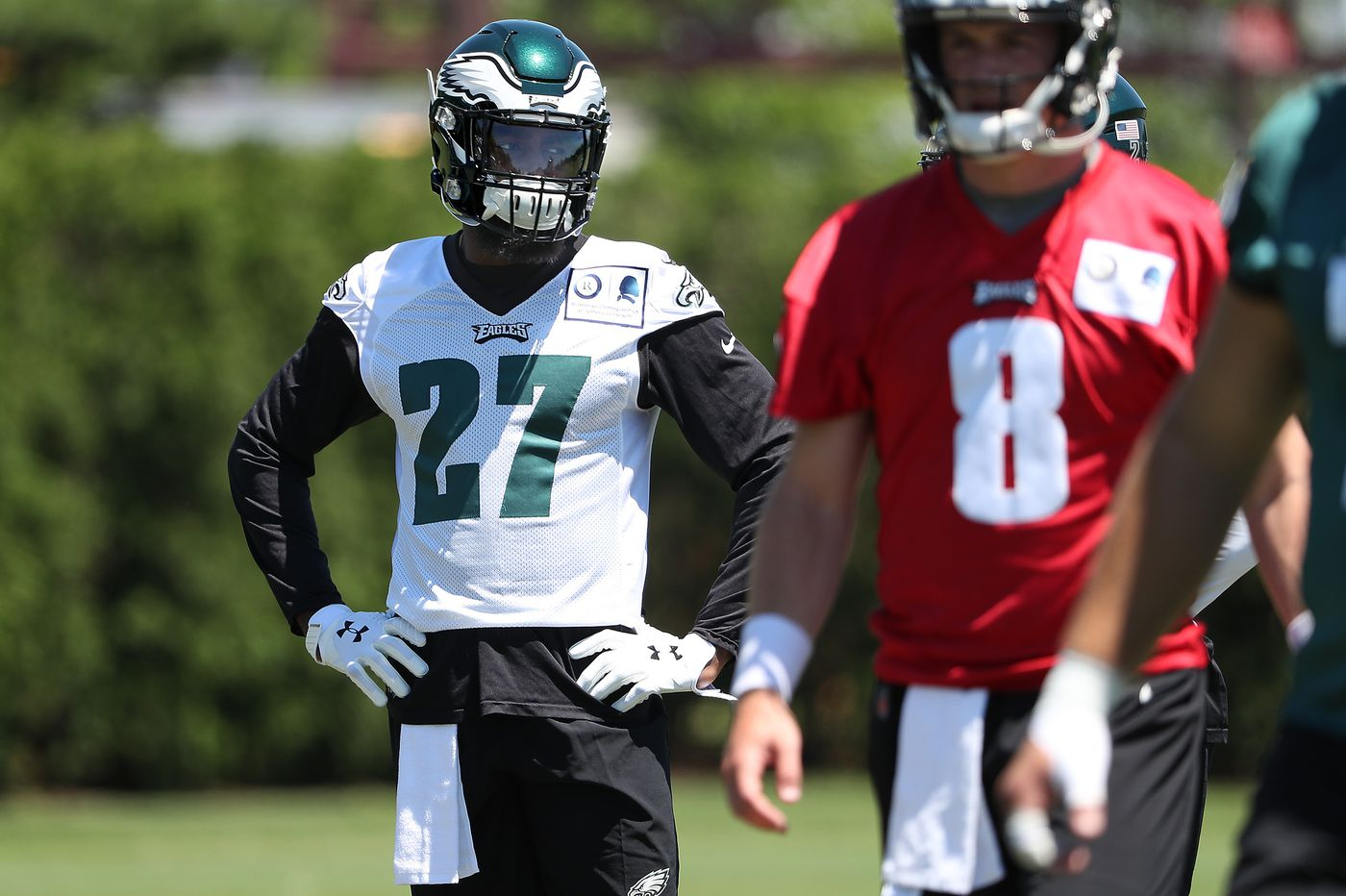 Malcolm Jenkins attends Eagles' mandatory minicamp, but believes he's 'outplayed' his contract