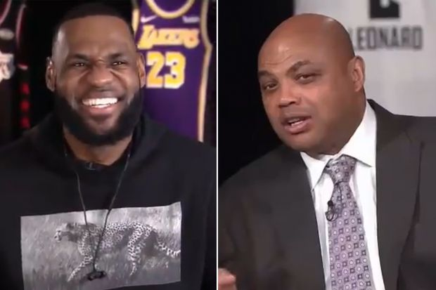 Charles Barkley mocks LeBron James with Anthony Davis trade joke