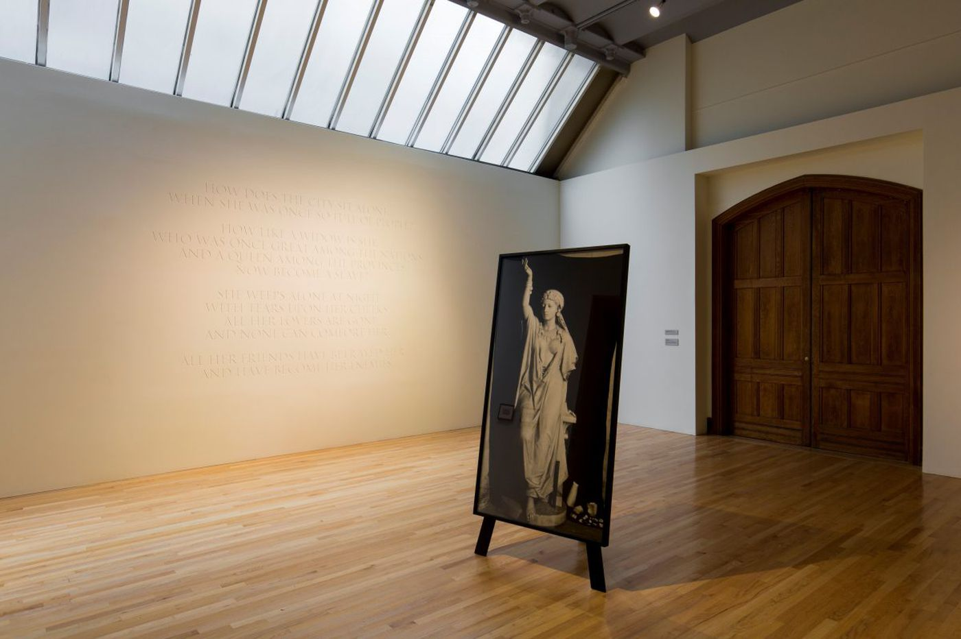 Show at PAFA ponders the fate of two spurned statues