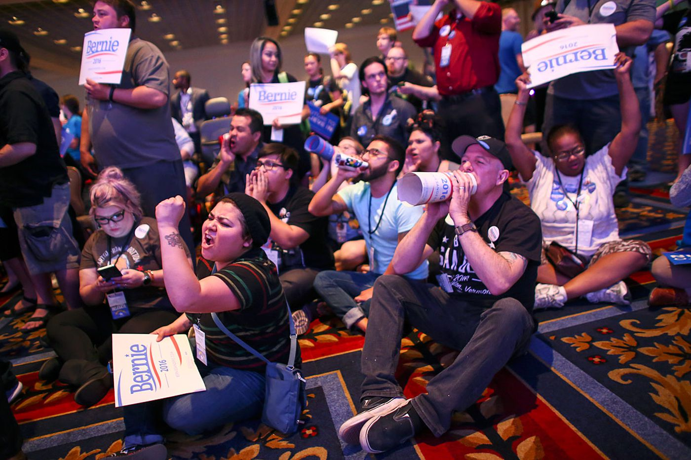#BernieorBust Democrats plan convention protests